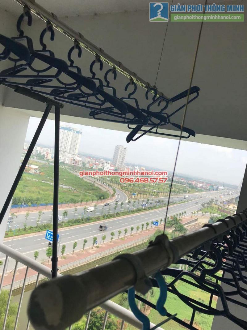 Sửa giàn phơi Duy Lợi nhà chị Linh, chung cư Vườn Đào, 689 Lạc Long Quân, Tây Hồ, Hà Nội - 04