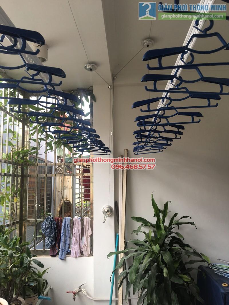 Lắp giàn phơi thông minh Đống Đa hà chị Hà, ngõ 64 Nguyễn Lương Bằng - 01