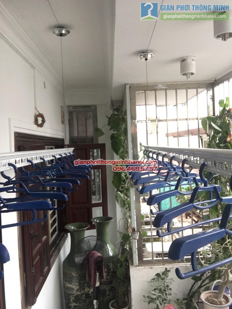 Lắp giàn phơi thông minh Đống Đa hà chị Hà, ngõ 64 Nguyễn Lương Bằng - 06