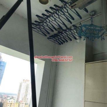 Sửa giàn phơi Duy Lợi nhà chị Linh, P902, Chung cư Vườn Đào, 689 Lạc Long Quân, Tây Hồ, Hà Nội