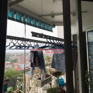 Sửa giàn phơi thông minh nhà chị Linh, số 10 Hàn Thuyên, TP.Vũng Tàu