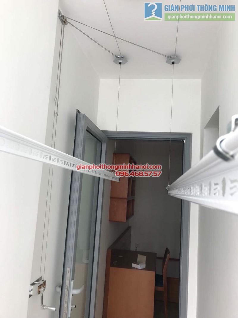 Lắp giàn phơi thông minh Hà Nội tại Park 10, Park Hill Times City nhà chị Hải - 04