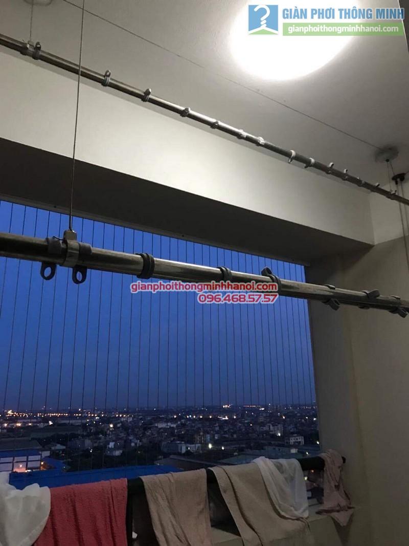 Sửa giàn phơi nhà anh Nam, KĐT Sài Đồng, Long Biên, Hà Nội - 02