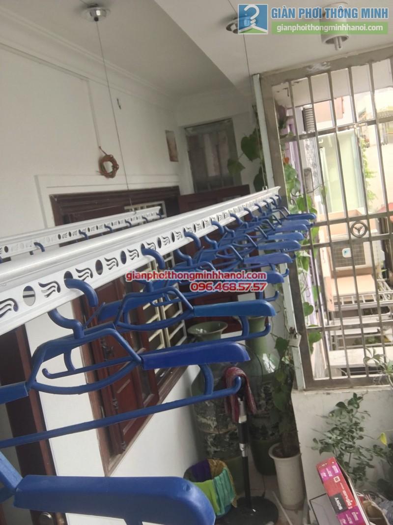 Lắp giàn phơi thông minh Đống Đa hà chị Hà, ngõ 64 Nguyễn Lương Bằng - 08