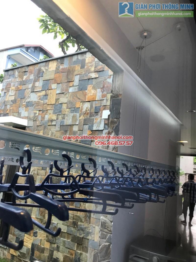 Lắp giàn phơi thông minh Vũng Tàu tại nhà chị Minh - 03