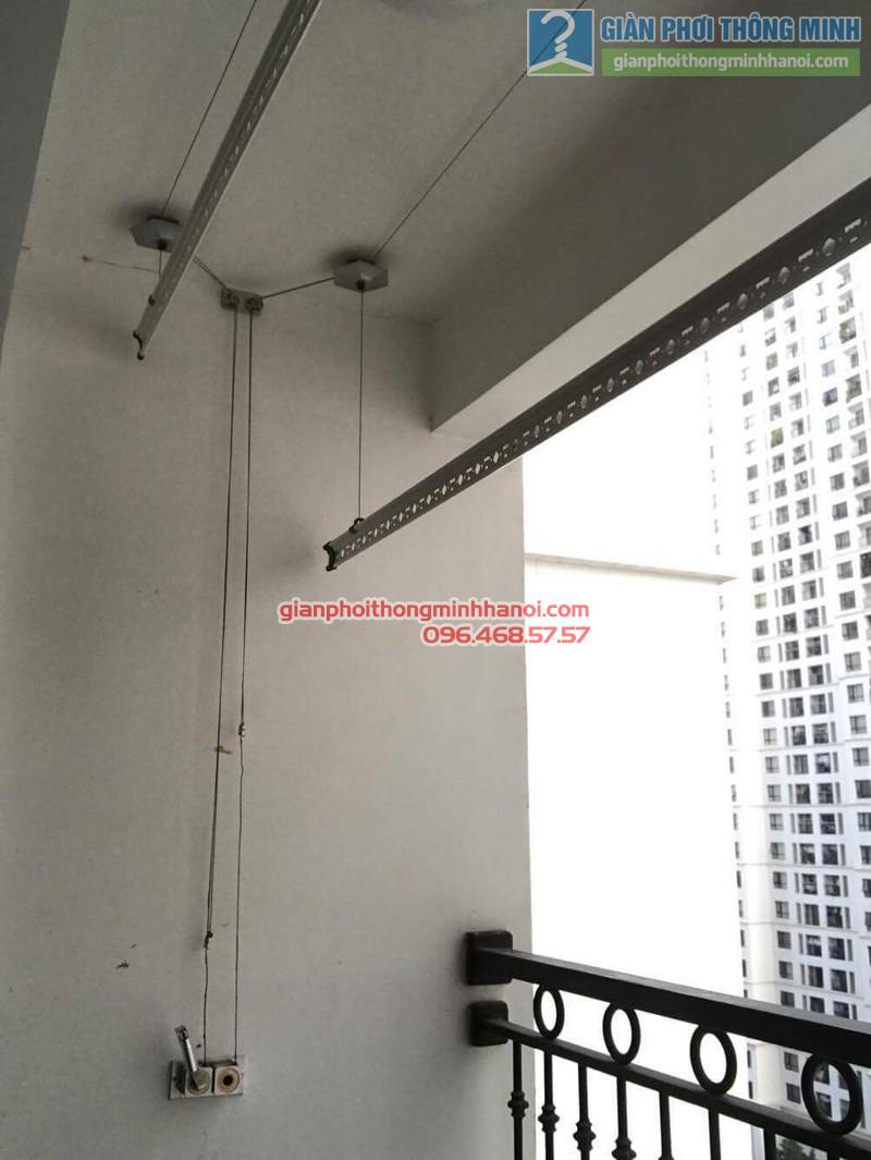 Sửa giàn phơi thông minh tại Times City, nhà anh Du, P1206, Tòa T5 -08