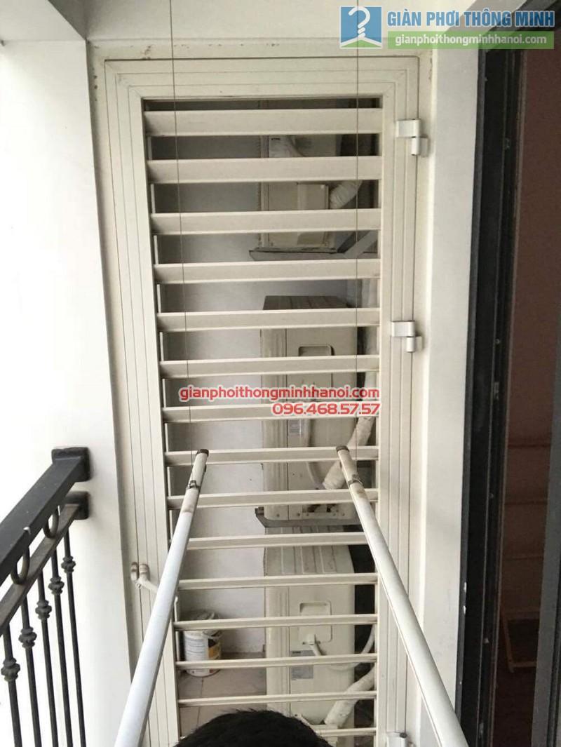 Sửa giàn phơi thông minh tại Times City, nhà anh Du, P1206, Tòa T5 -09