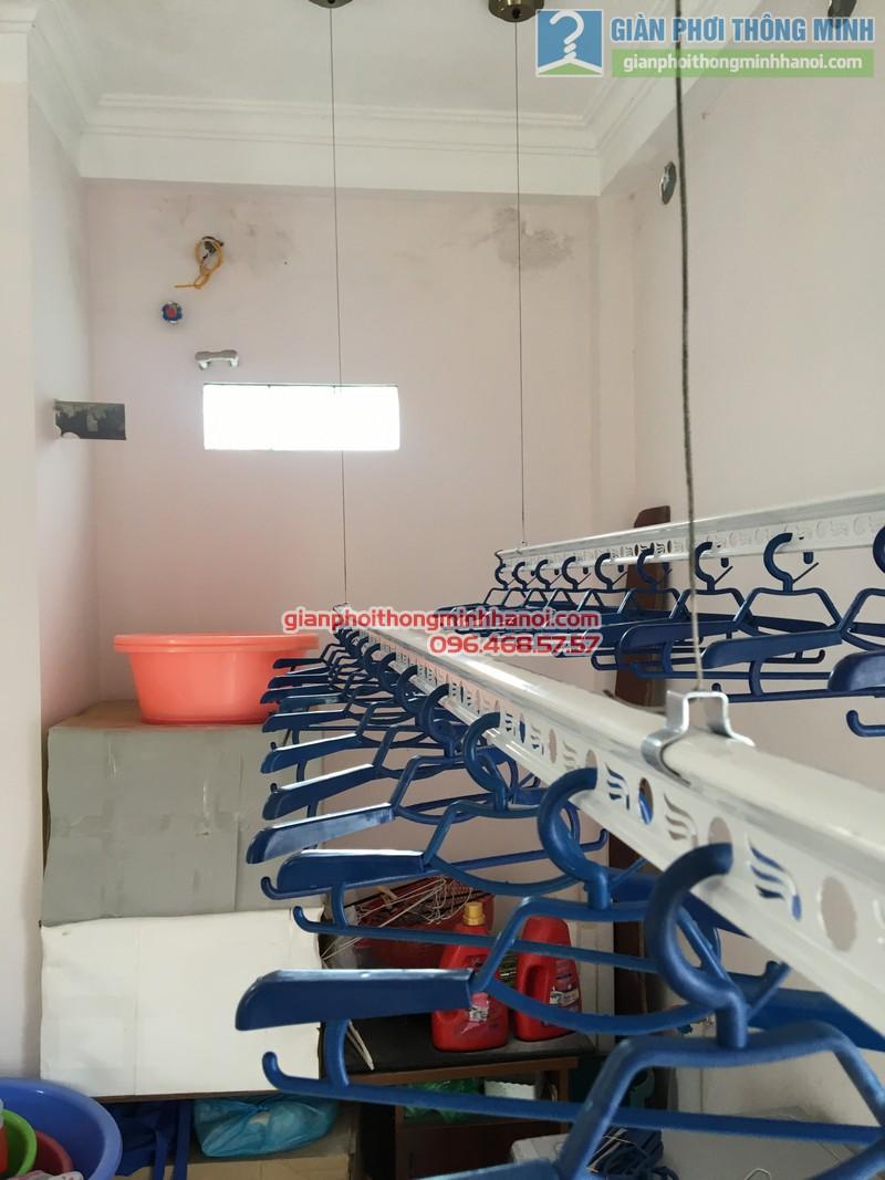 Lắp giàn phơi Cầu giấy nhà anh Ba- bộ giàn phơi Hòa Phát Air GP703 - 08