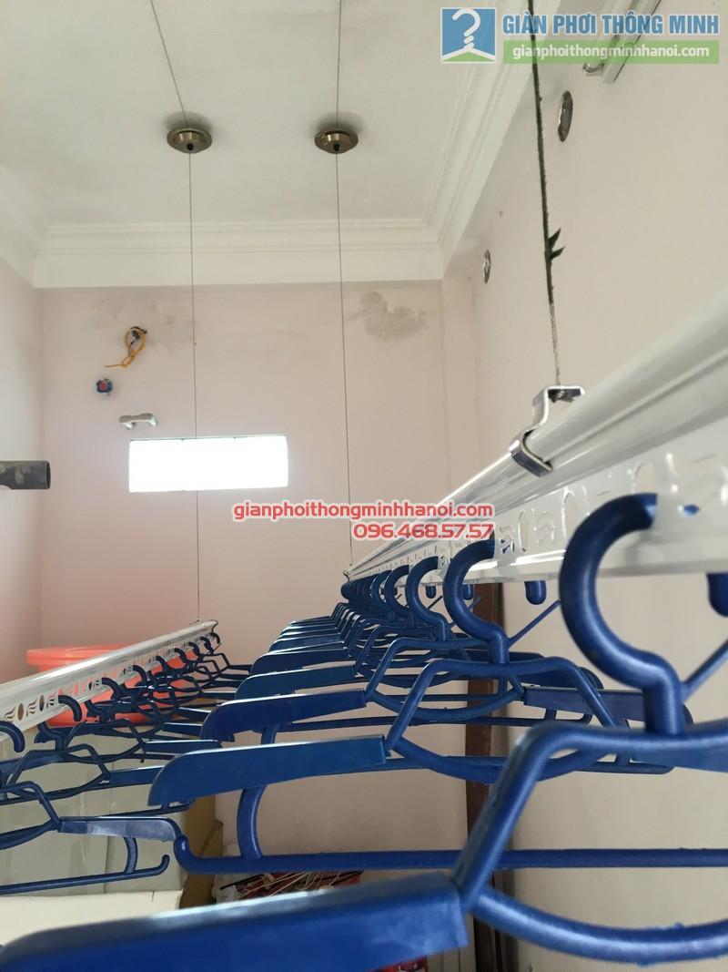 Lắp giàn phơi Cầu giấy nhà anh Ba- bộ giàn phơi Hòa Phát Air GP703 - 09