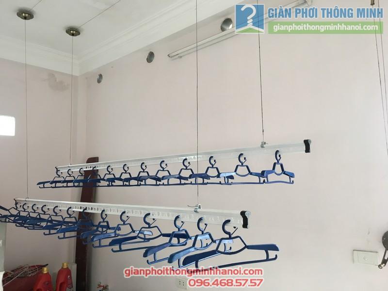 Lắp giàn phơi Cầu giấy nhà anh Ba- bộ giàn phơi Hòa Phát Air GP703 - 06