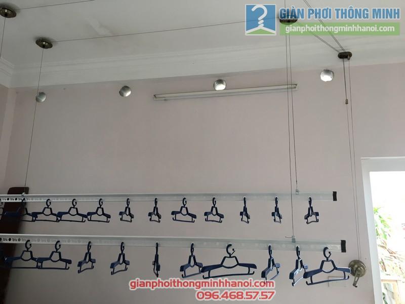 Lắp giàn phơi Cầu giấy nhà anh Ba- bộ giàn phơi Hòa Phát Air GP703 - 05