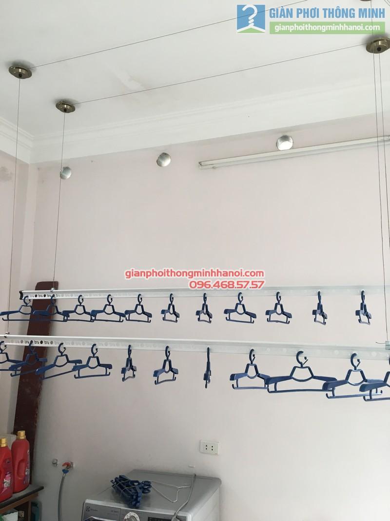 Lắp giàn phơi Cầu giấy nhà anh Ba- bộ giàn phơi Hòa Phát Air GP703 - 04