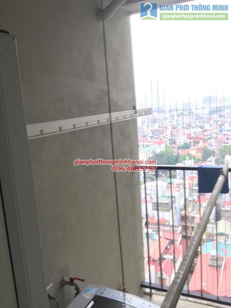 Sửa dàn phơi thông minh nhà chú Dũng, chung cư Ciputra, Tây Hồ, Hà Nội - 06