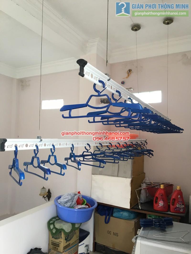 Lắp giàn phơi Cầu giấy nhà anh Ba- bộ giàn phơi Hòa Phát Air GP703 - 03