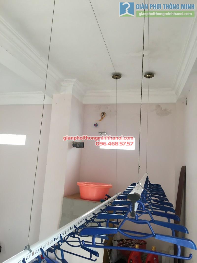 Lắp giàn phơi Cầu giấy nhà anh Ba- bộ giàn phơi Hòa Phát Air GP703 - 02