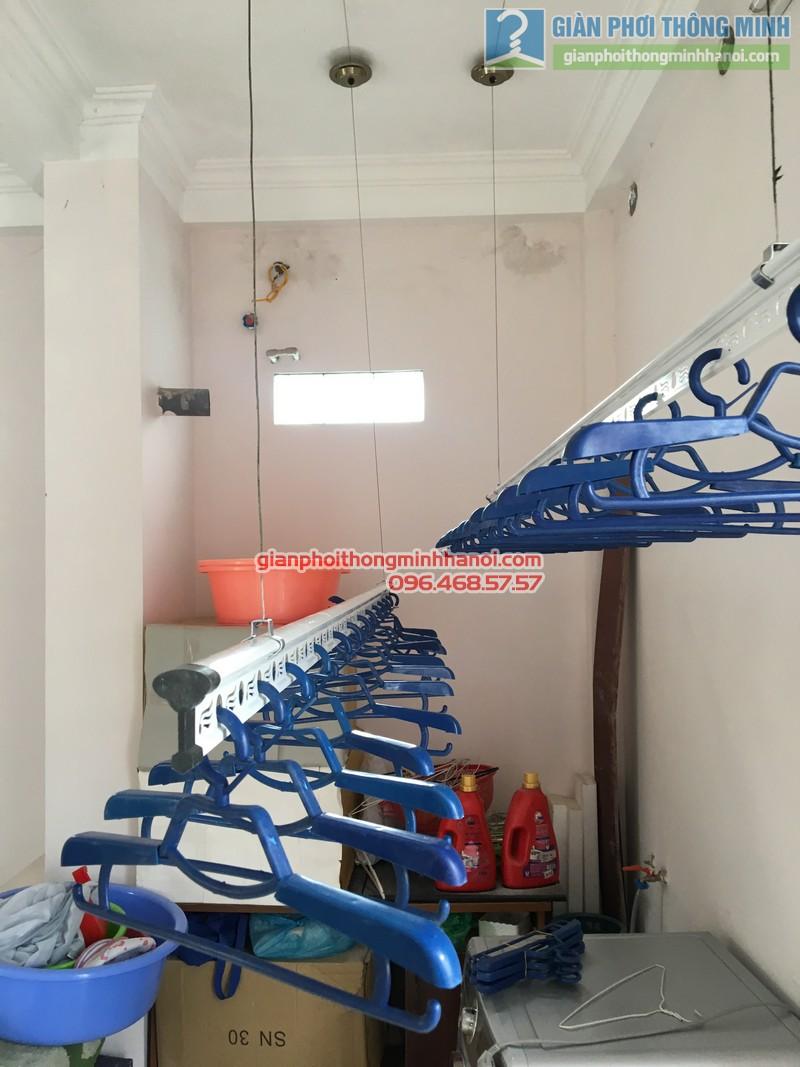 Lắp giàn phơi Cầu giấy nhà anh Ba- bộ giàn phơi Hòa Phát Air GP703 - 01