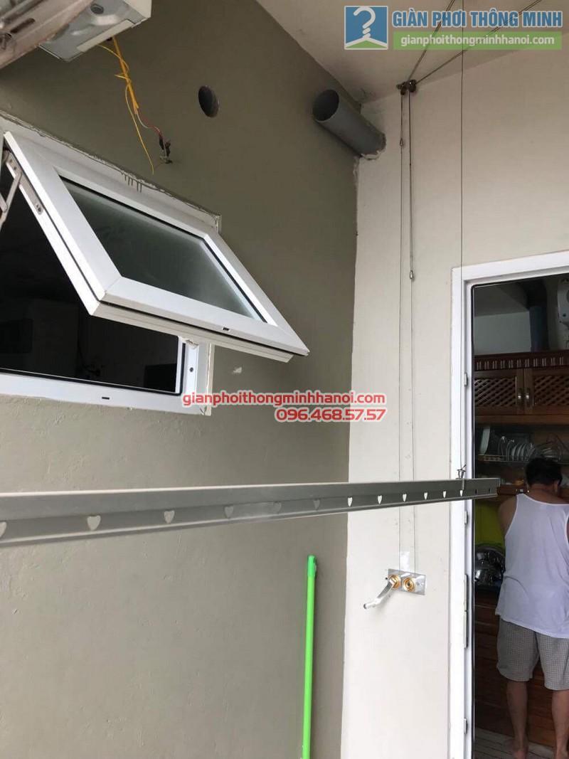 Sửa dàn phơi thông minh nhà chú Dũng, chung cư Ciputra, Tây Hồ, Hà Nội - 03