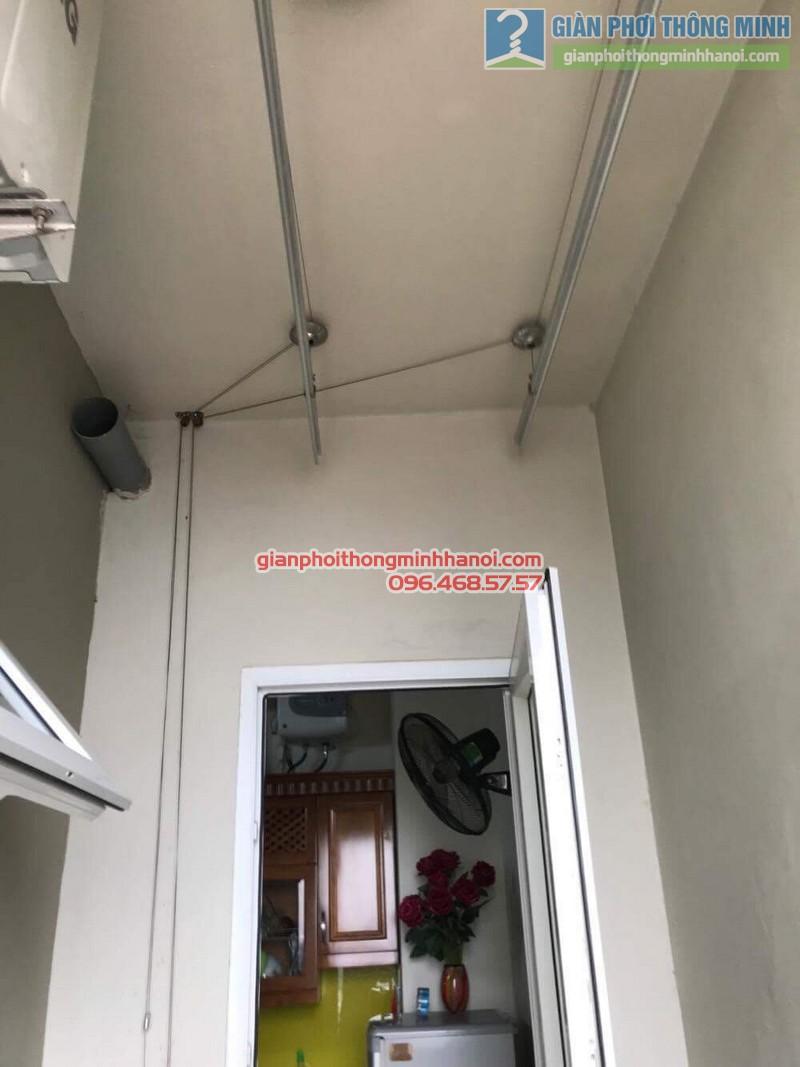 Sửa dàn phơi thông minh nhà chú Dũng, chung cư Ciputra, Tây Hồ, Hà Nội - 02