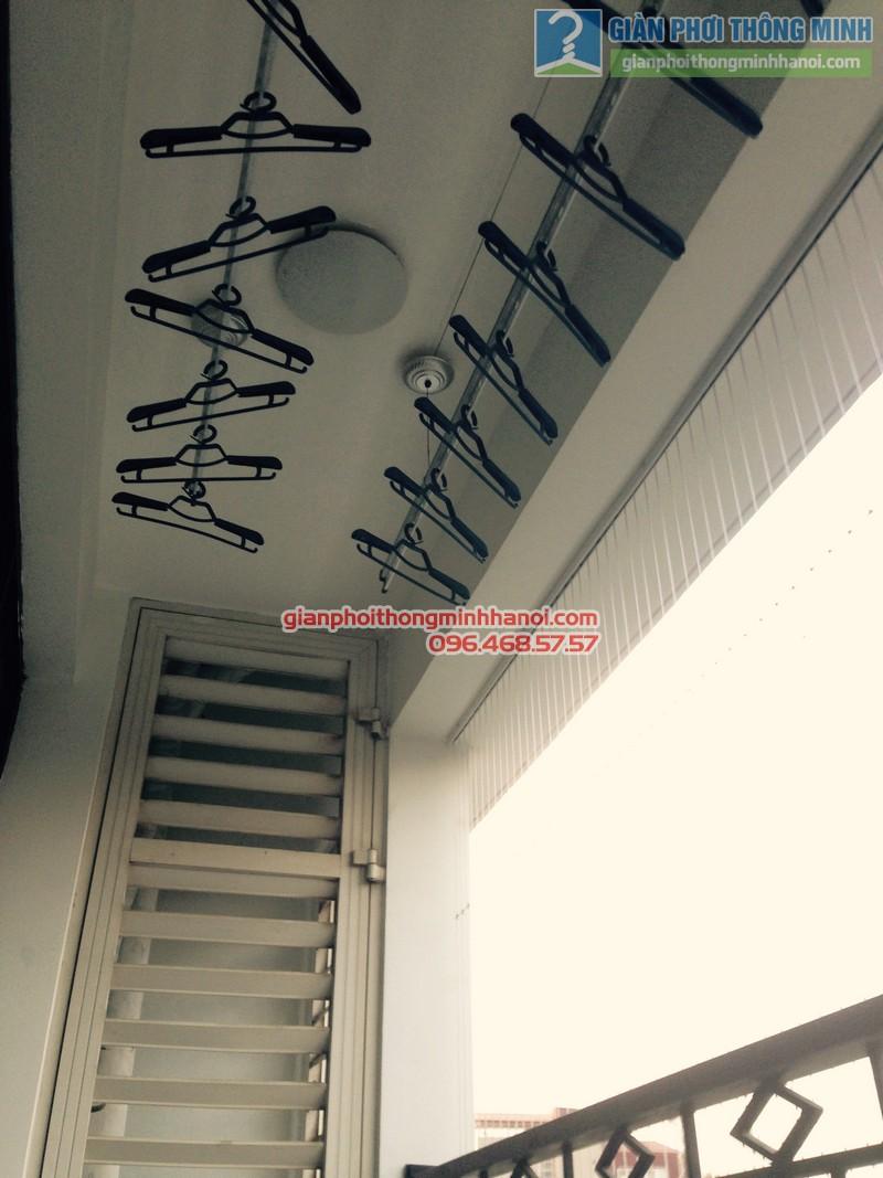 Lắp giàn phơi Thanh Xuân, bộ Gp950 nhà anh Tùng, Royal City - 03