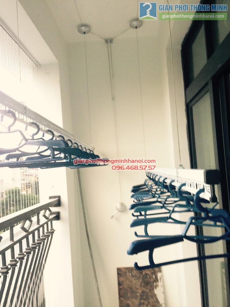 Lắp giàn phơi Thanh Xuân, bộ Gp950 nhà anh Tùng, Royal City - 07