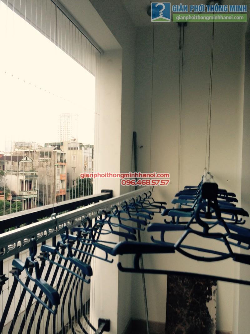 Lắp giàn phơi Thanh Xuân, bộ Gp950 nhà anh Tùng, Royal City - 08