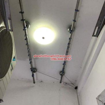 Sửa giàn phơi thông minh tại Hoàng Mai nhà chú Chiến, chung cư VP3, bán đảo Linh Đàm
