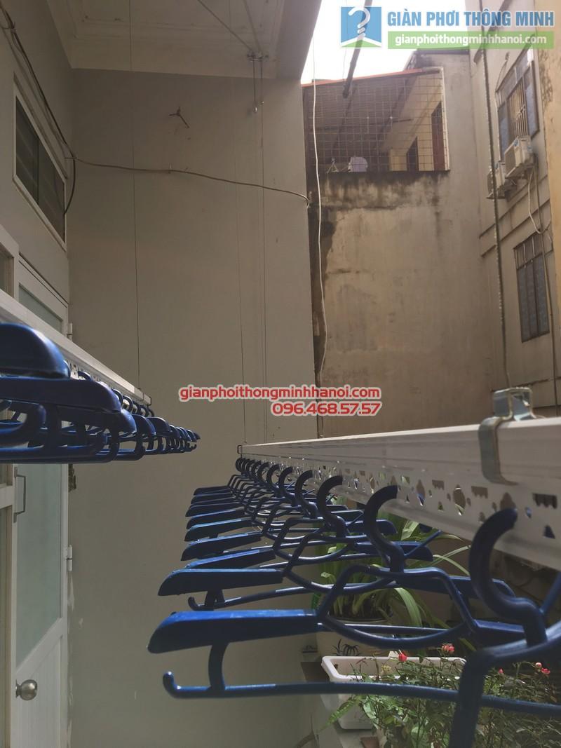 Lắp giàn phơi thông minh tphcm nhà chị Liên - 11