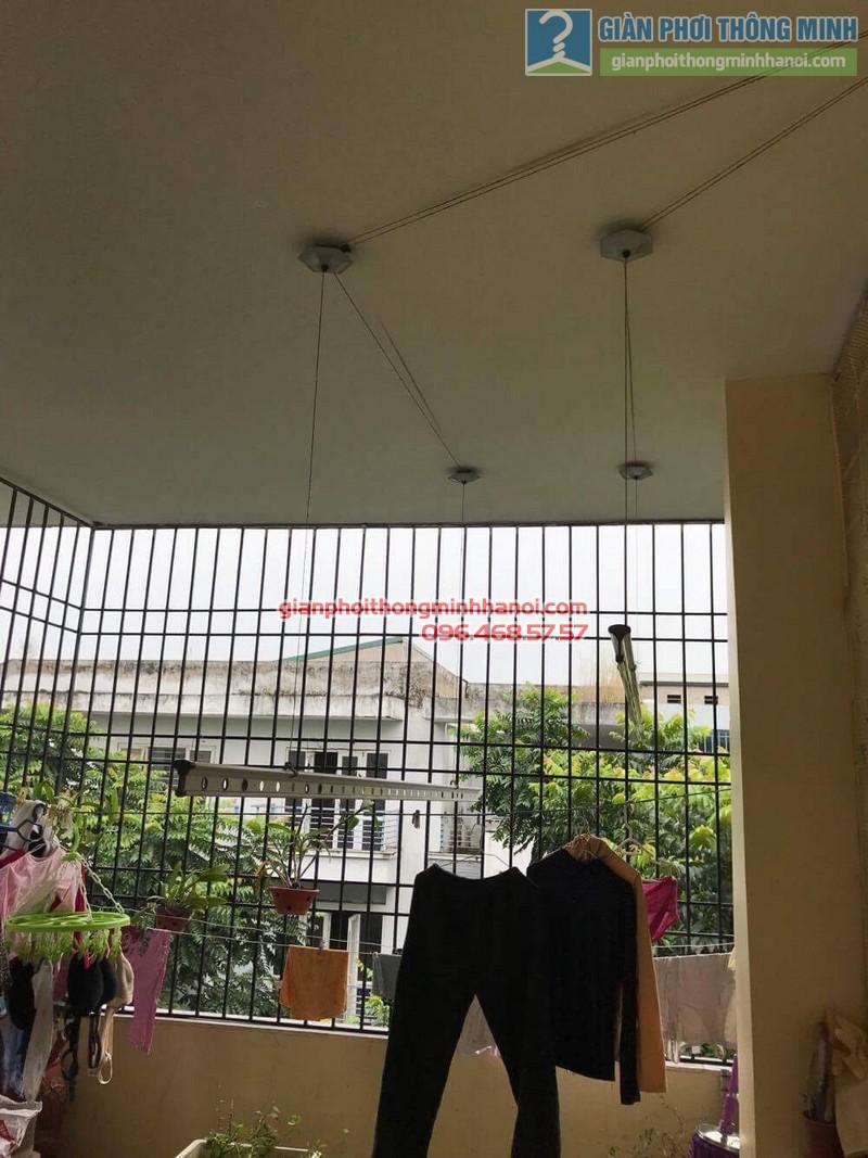 Sửa giàn phơi thông minh nhà cô Ngát, KĐT Văn Phú, Hà Đông, Hà Nội - 04