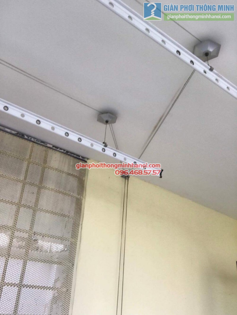 Sửa giàn phơi thông minh nhà cô Ngát, KĐT Văn Phú, Hà Đông, Hà Nội - 06