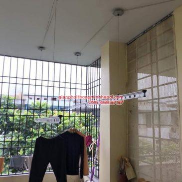 Sửa giàn phơi thông minh nhà cô Ngát, TT8, LK 35 Văn Phú, KĐT Văn Phú, Hà Đông, Hà Nội