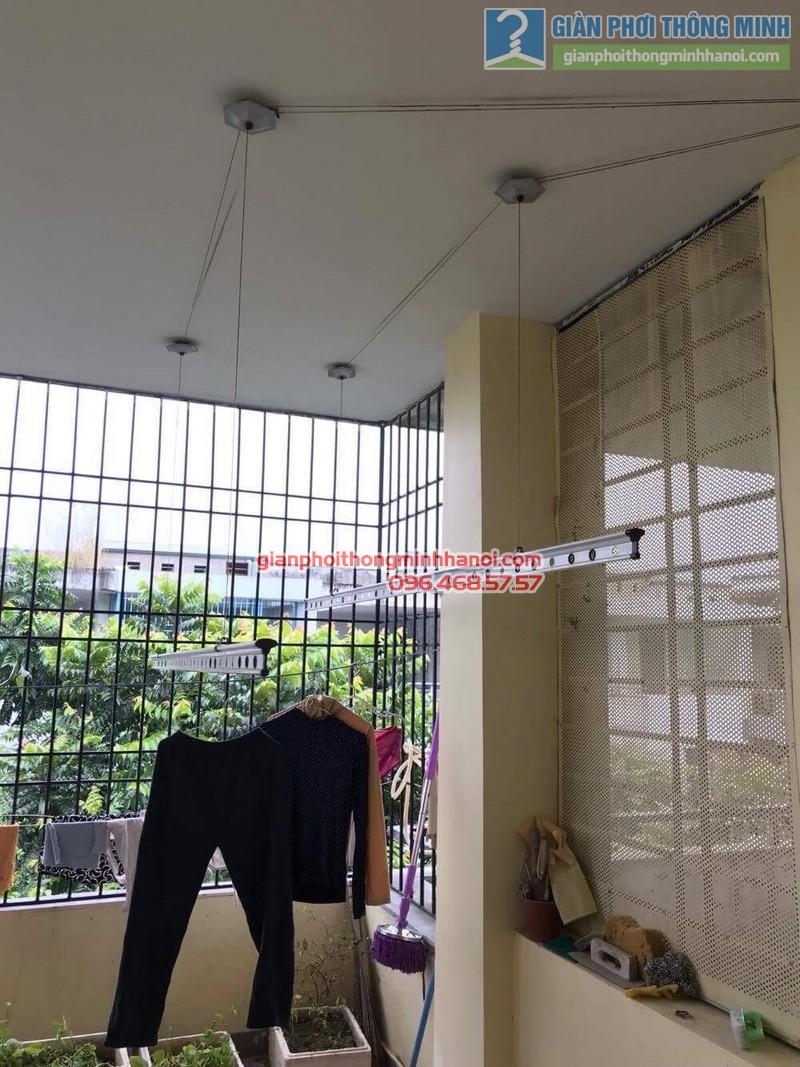 Sửa giàn phơi thông minh nhà cô Ngát, KĐT Văn Phú, Hà Đông, Hà Nội - 08