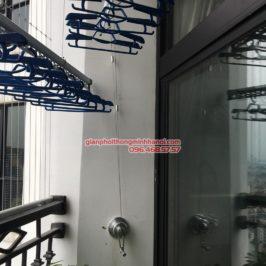 Lắp giàn phơi thông minh tại Royal City, nhà chị Liên, P2511, Tòa R4