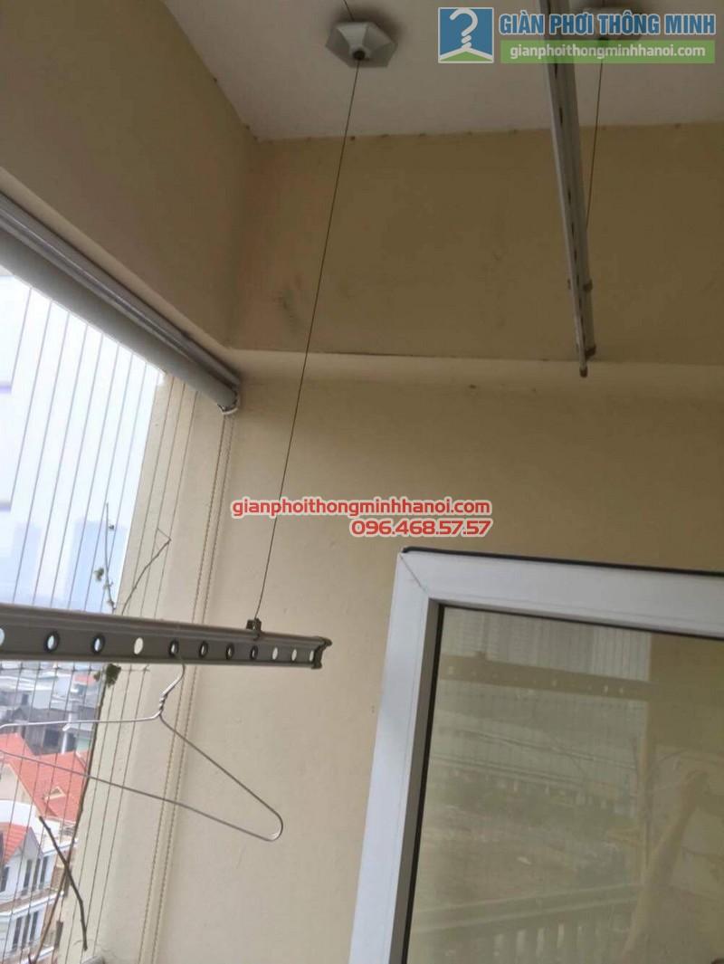 Sửa giàn phơi thông minh nhà cô Hà, chung cư Trung Văn Vinaconex3, Nam Từ Liêm, Hà Nội - 04