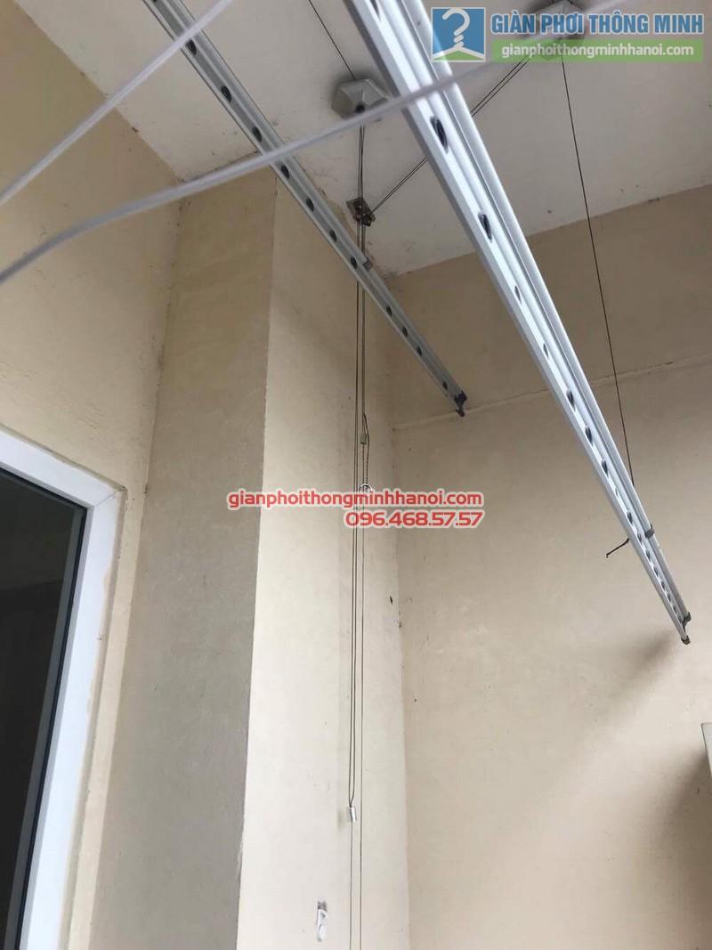 Sửa giàn phơi thông minh nhà cô Hà, chung cư Trung Văn Vinaconex3, Nam Từ Liêm, Hà Nội - 08