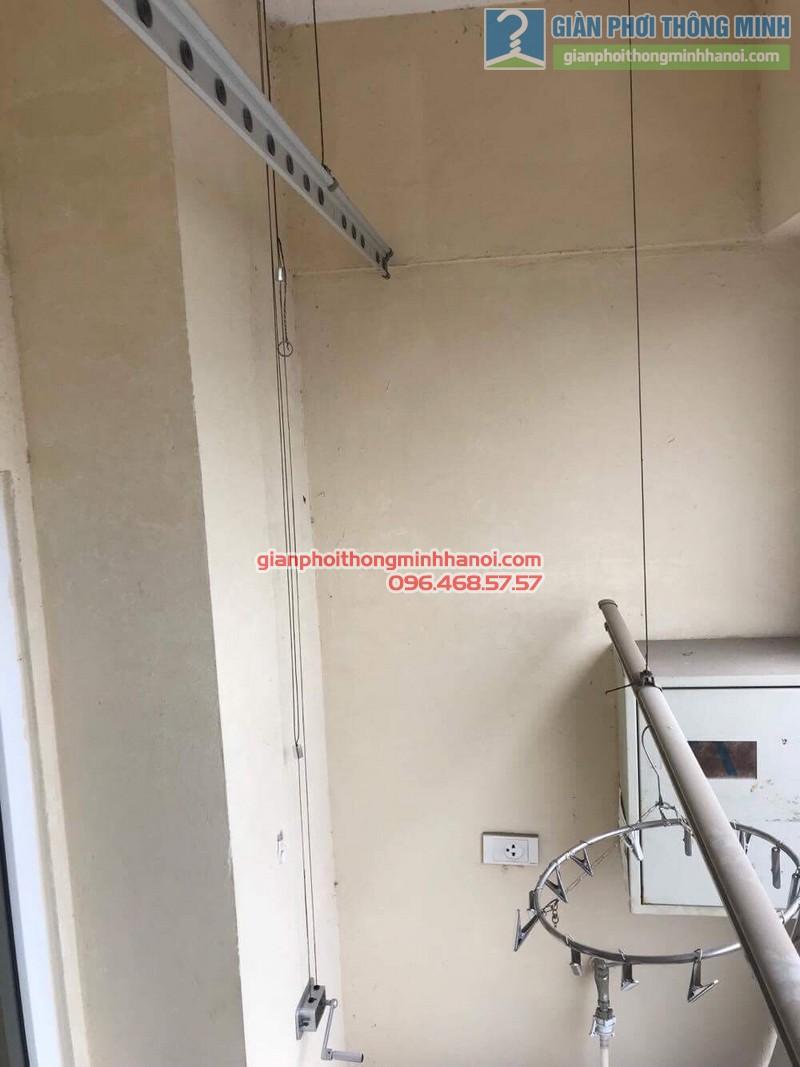 Sửa giàn phơi thông minh nhà cô Hà, chung cư Trung Văn Vinaconex3, Nam Từ Liêm, Hà Nội - 09