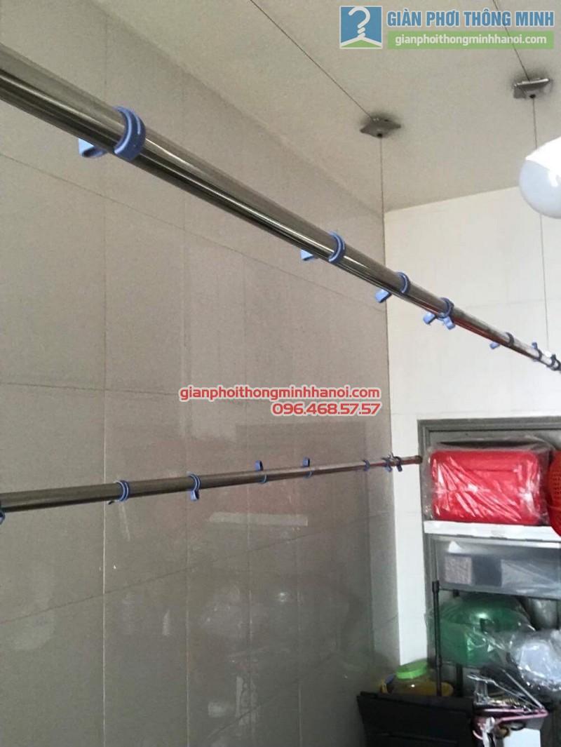 Thay dây cáp giàn phơi nhà chị Dịu, chung cư M5, 91 Nguyễn Chí Thanh, Đống, Đa, Hà Nội - 05