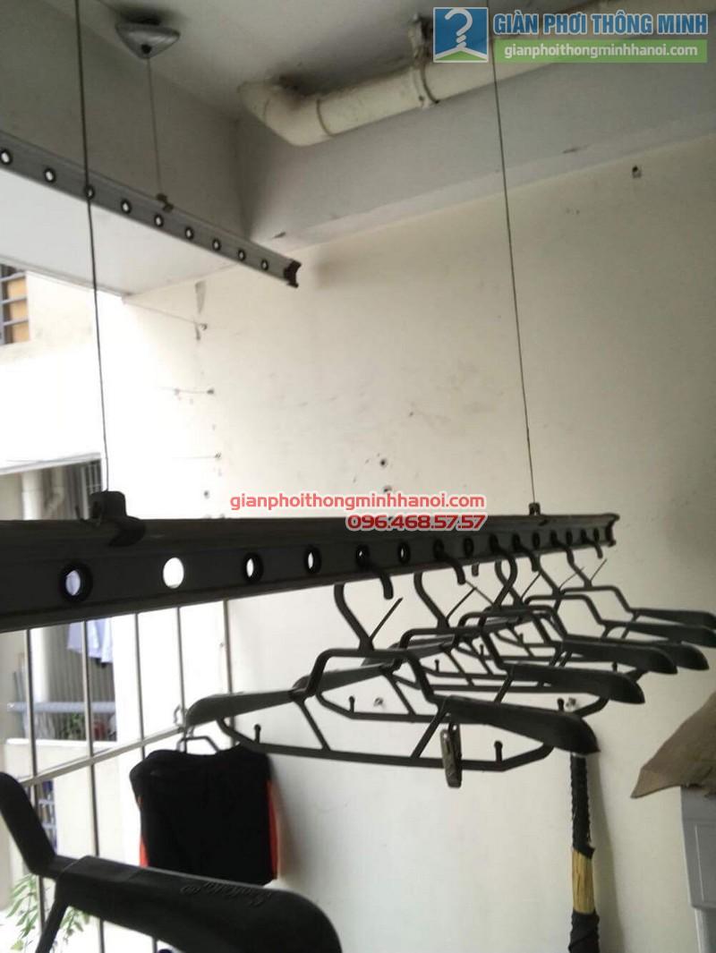 Sửa giàn phơi thông minh nhà anh Quy,chung cư Mỹ Đình Plaza 138 Trần Bình, Nam Từ Liêm, Hà Nội - 02