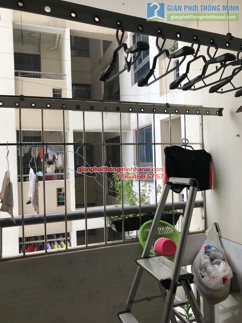 Sửa giàn phơi thông minh nhà anh Quy,chung cư Mỹ Đình Plaza 138 Trần Bình, Nam Từ Liêm, Hà Nội - 03