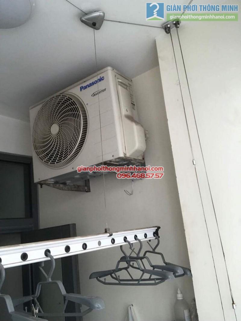 Sửa giàn phơi thông minh nhà anh Quy,chung cư Mỹ Đình Plaza 138 Trần Bình, Nam Từ Liêm, Hà Nội - 04