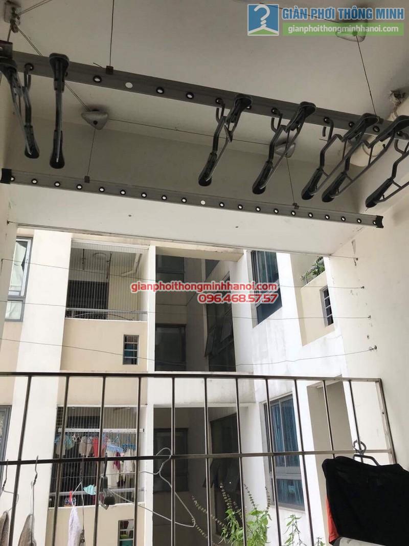 Sửa giàn phơi thông minh nhà anh Quy,chung cư Mỹ Đình Plaza 138 Trần Bình, Nam Từ Liêm, Hà Nội - 07