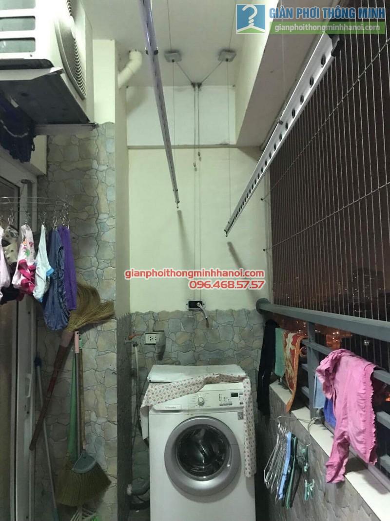 Lắp giàn phơi thông minh tại Hoàng Mai nhà chị Thủy, chung cư Nam Đô Complex - 03