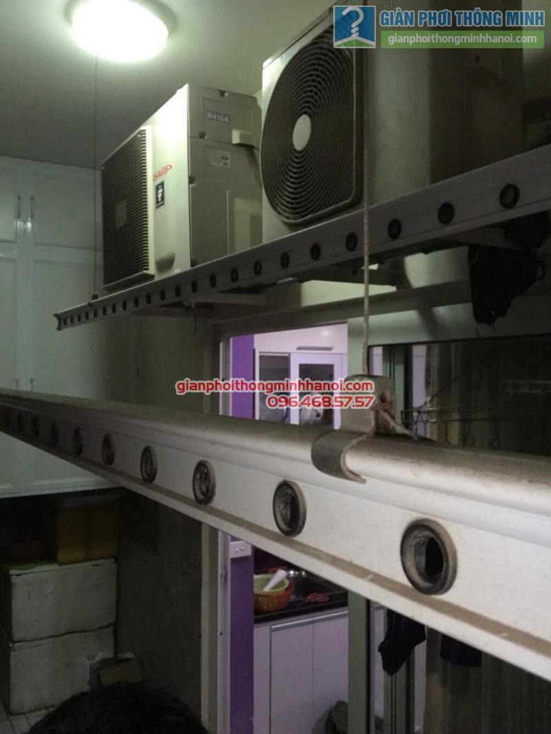 Lắp giàn phơi thông minh tại Hoàng Mai nhà chị Thủy, chung cư Nam Đô Complex - 05