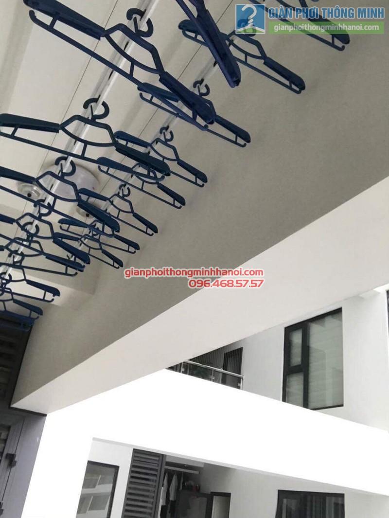 Lắp giàn phơi thông minh Thanh Xuân nhà chị Ngà, chung cư Imperial Garden 203 Nguyễn Huy Tưởng - 06