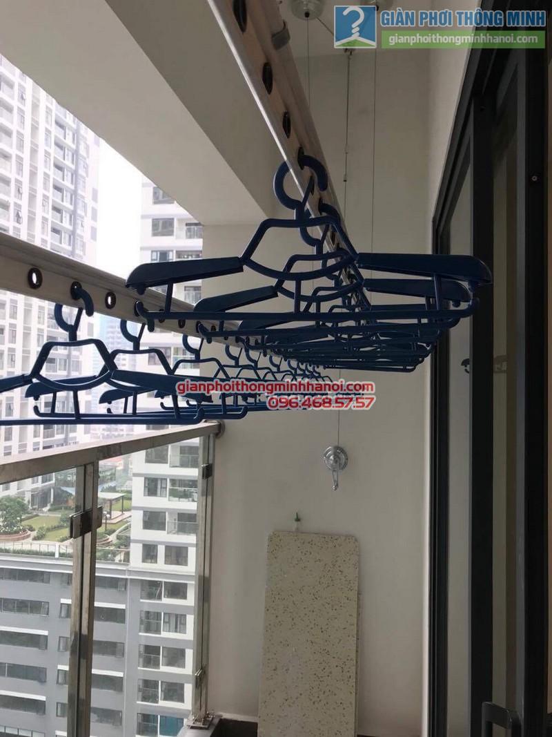 Lắp giàn phơi thông minh Thanh Xuân nhà chị Ngà, chung cư Imperial Garden 203 Nguyễn Huy Tưởng - 08