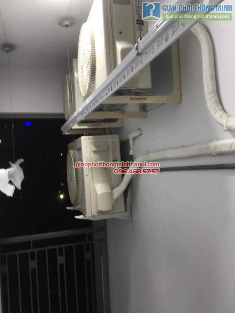 Lắp đặt giàn phơi thông minh 999B tại nhà chị Vân, chung cư 622 Minh Khai, Hai Bà Trưng, Hà Nội - 06