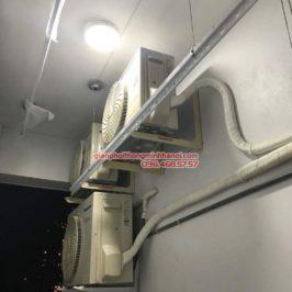 Lắp đặt giàn phơi thông minh 999B tại nhà chị Vân, P606, Chung cư 622 Minh Khai, Hai Bà Trưng, Hà Nội