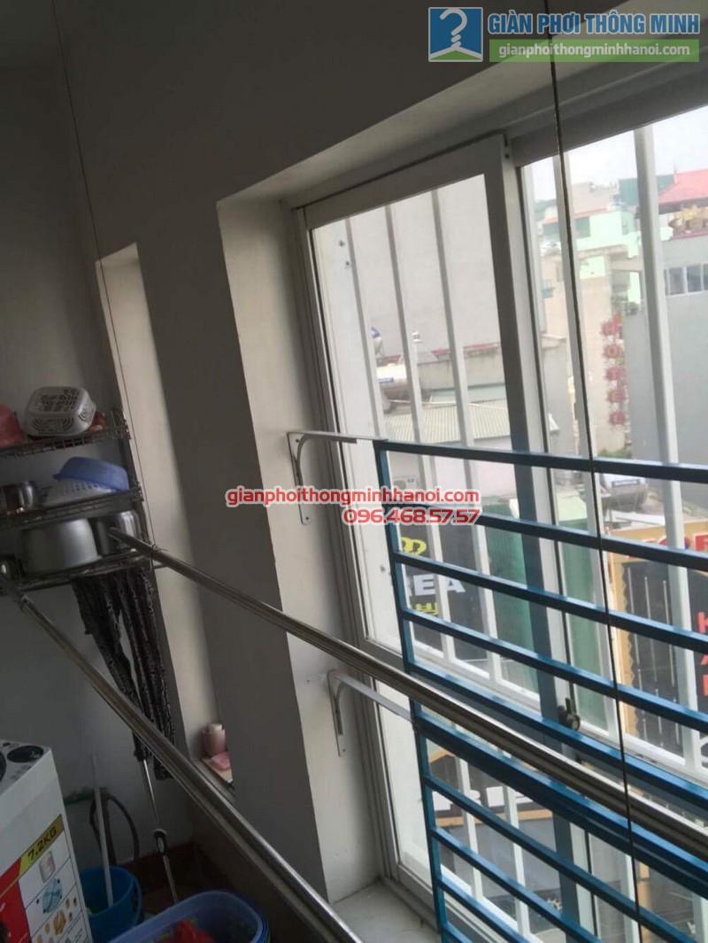 Sửa giàn phơi thông minh nhà anh Thọ, chung cư Mỹ Đình Sông Đà, Từ Liêm, Hà Nội - 01