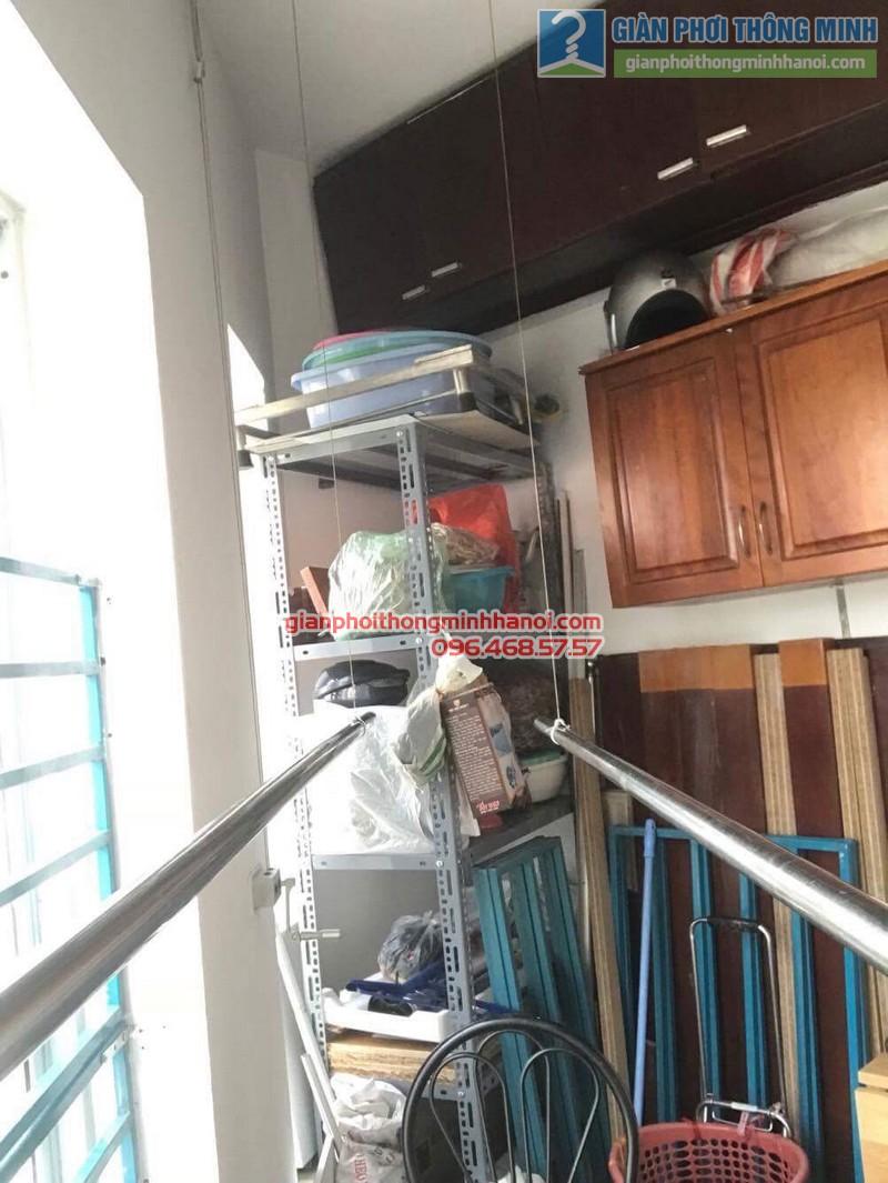 Sửa giàn phơi thông minh nhà anh Thọ, chung cư Mỹ Đình Sông Đà, Từ Liêm, Hà Nội - 04