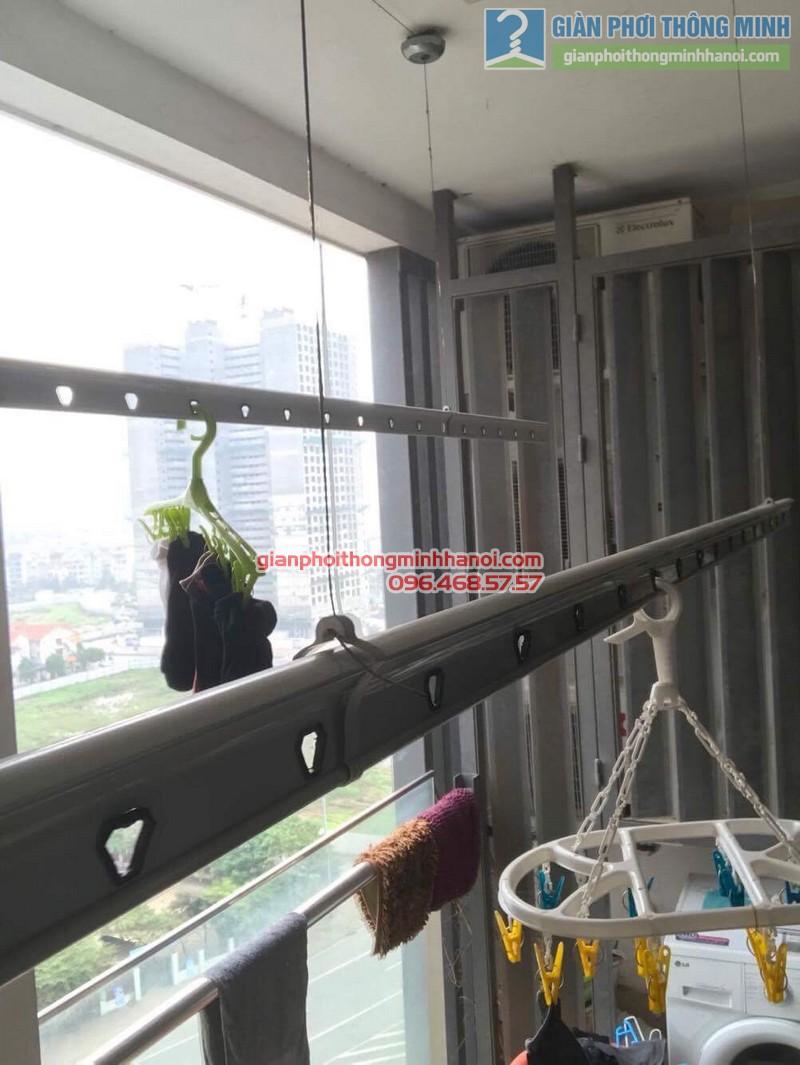 Sửa giàn phơi thông minh nhà chị Nguyệt, chung cư Ciputra Võ Chí Công, Xuân La, Tây Hồ, Hà Nội - 03