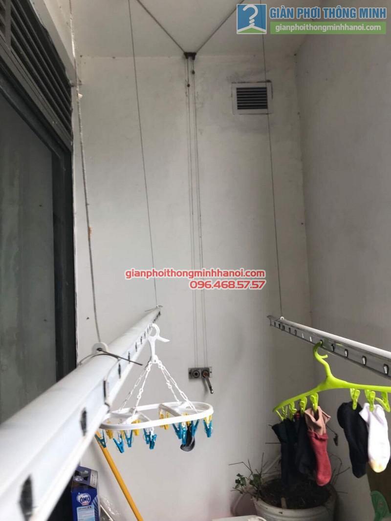 Sửa giàn phơi thông minh nhà chị Nguyệt, chung cư Ciputra Võ Chí Công, Xuân La, Tây Hồ, Hà Nội - 08